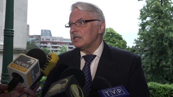 Szef MSZ: Postaram się wysłać odpowiedź KE przed Radą Europejską