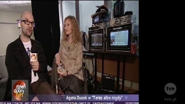 Wywiad z Agatą Buzek w Dzień Dobry TVN