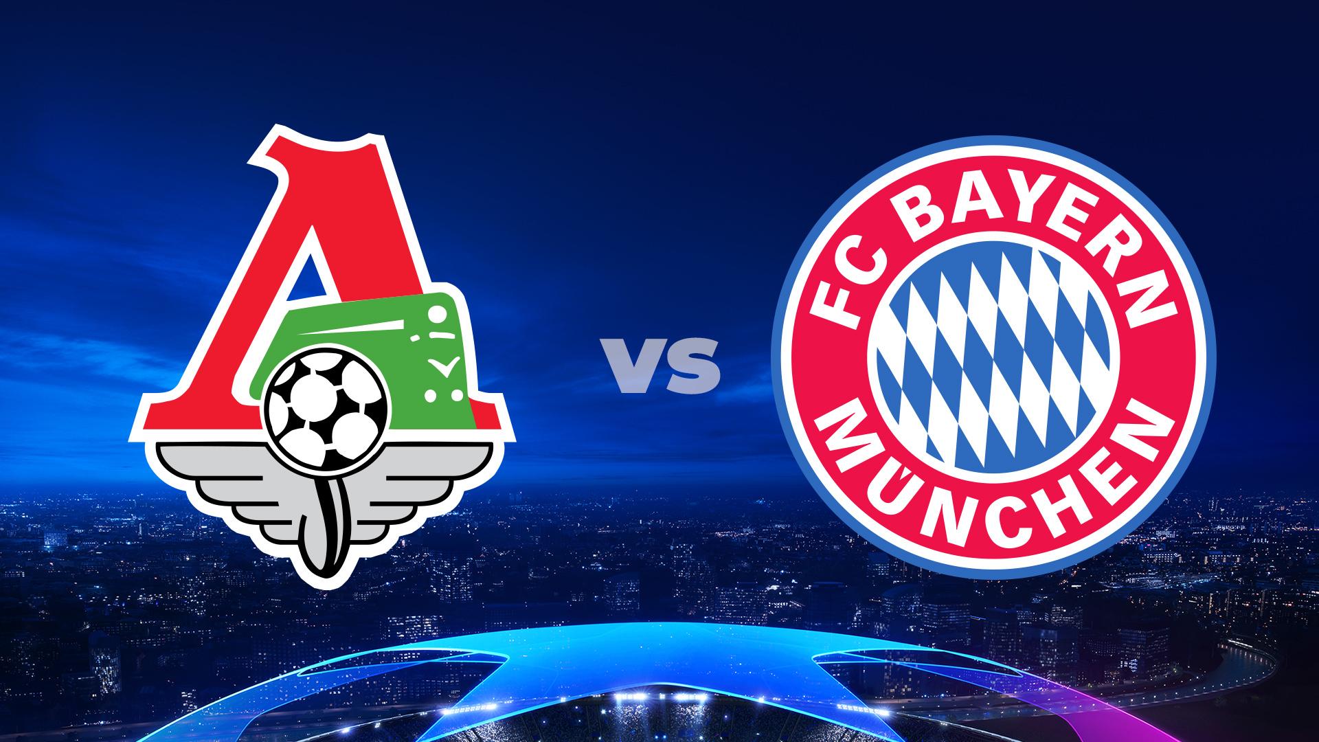 Lokomotiw Moskwa - Bayern Monachium