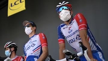 Tour de France: Wszystkie testy na koronawirusa dały negatywny wynik