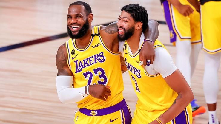 NBA: Los Angeles Lakers czekają na rywala w play off