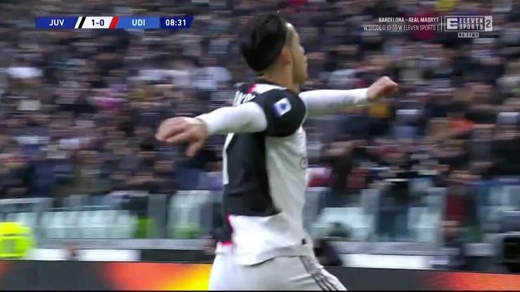 Juventus - Udinese 3:1. Skrót meczu [ELEVEN SPORTS]