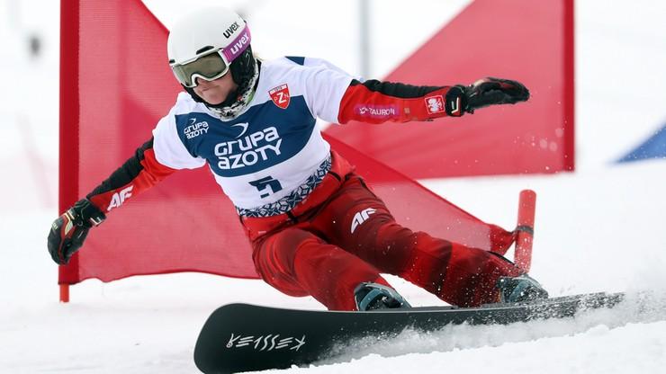 PŚ w snowboardzie: Polka 12. w slalomie gigancie