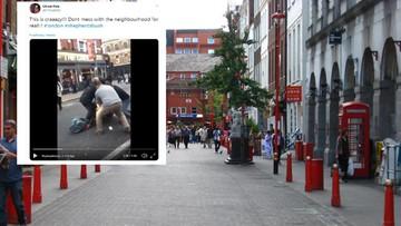 Potknął się uciekając po napadzie na jubilera w Londynie. Tłum nie miał litości
