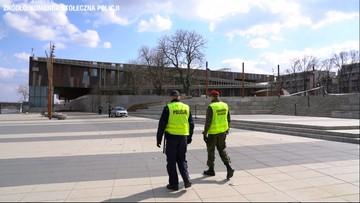 Wojsko i policja na ulicach, drony nad miastem. W weekend mobilizacja służb: #zerotolerancji