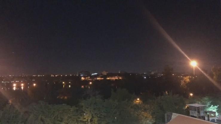 Rakiety spadły w dzielnicy ambasad w Bagdadzie