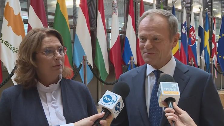 Tusk gościł Kidawę-Błońską w Brukseli: nadzieja polskiej polityki