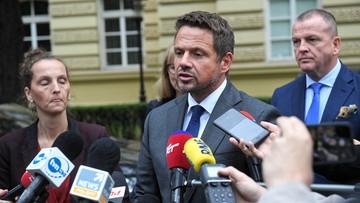 Trzaskowski: na moje barki spadła odpowiedzialność sprzątania po błędach poprzedników