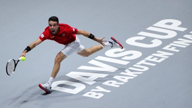 Puchar Davisa: Bautista Agut wrócił do drużyny i zagra w finale