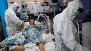 Eskalacja pandemii. Rekordowa liczba osób pod respiratorami