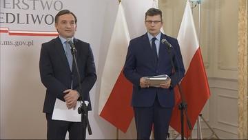 """""""Parodia opinii"""", """"wizyta nielegalna"""". Ziobro i Warchoł o Komisji Weneckiej"""