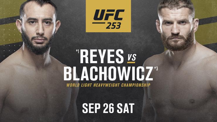 UFC 253. Reyes - Błachowicz: Jak gwiazdy sportu zareagowały na ogłoszenie walki?