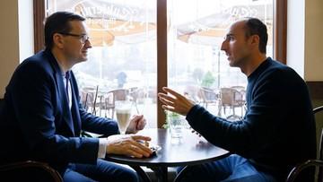"""""""Szybka kawa"""" premiera z Kubicą. Rozmawiali o bezpieczeństwie na drogach"""