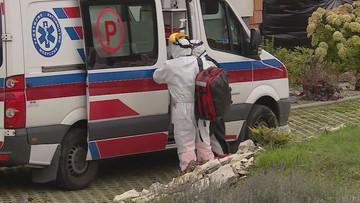 Pacjent z koronawirusem zmarł w karetce. W szpitalu nie było wolnych miejsc