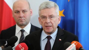 Karczewski pozwie posłów KO. Podał powód