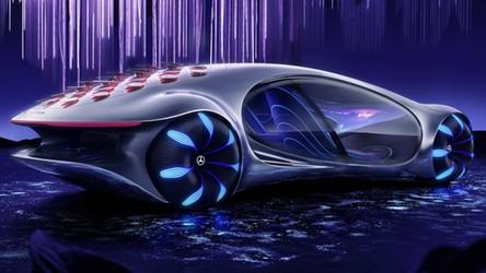 Oto Mercedes-Benz Vision AVTR, czyli wizja pojazdu przyszłości rodem z Avatara