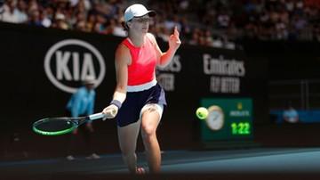 Iga Świątek w finale pokazowego turnieju tenisowego w Montreux