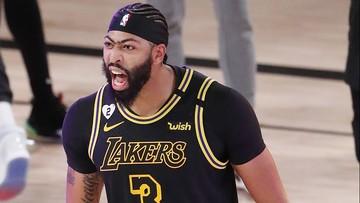 NBA: Rzut równo z końcową syreną dał zwycięstwo Lakers
