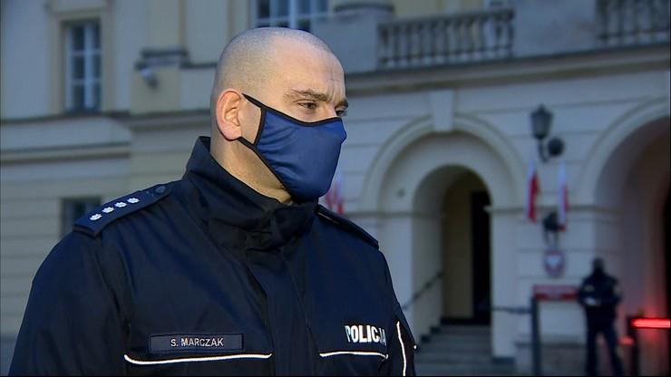 Rzecznik policji: 35 policjantów rannych w czasie Marszu Niepodległości