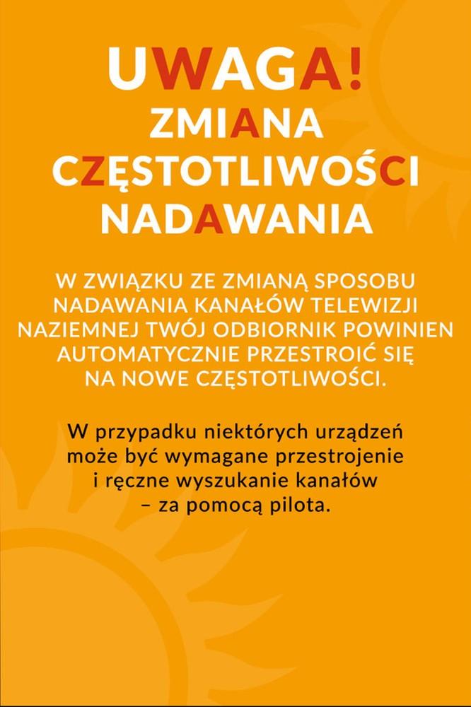2020-06-03 Informacja dla widzów cyfrowej telewizji naziemnej - Polsat Music