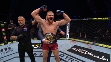 Błachowicz mistrzem UFC. Polak znokautował Amerykanina