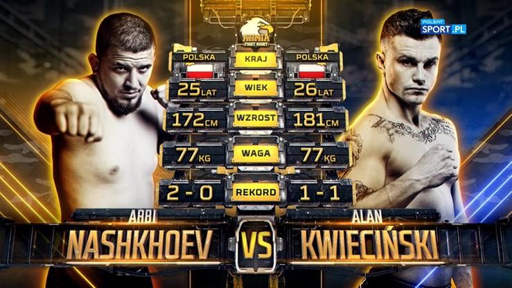 2019-10-05 Arbi Nashkhoev - Alan Kwieciński. Skrót walki