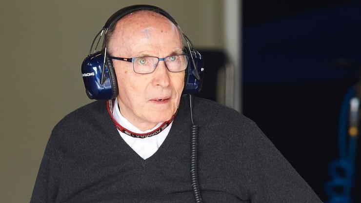 Formuła 1: Frank Williams trafił do szpitala