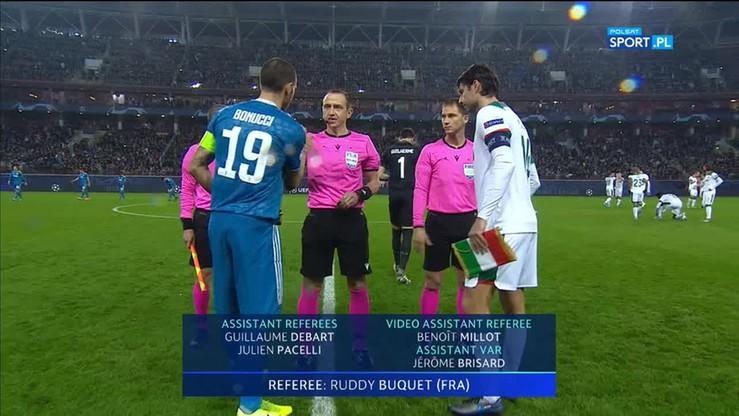 2019-11-06 Lokomotiw Moskwa - Juventus 1:2. Skrót meczu