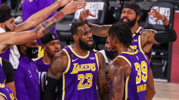 NBA: Lakers awansowali do finału