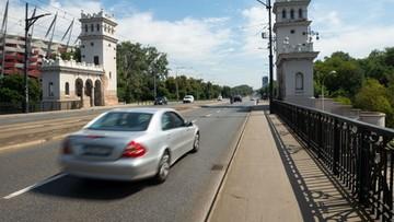 Sześć fotoradarów pojawi się na jednym z mostów w Warszawie
