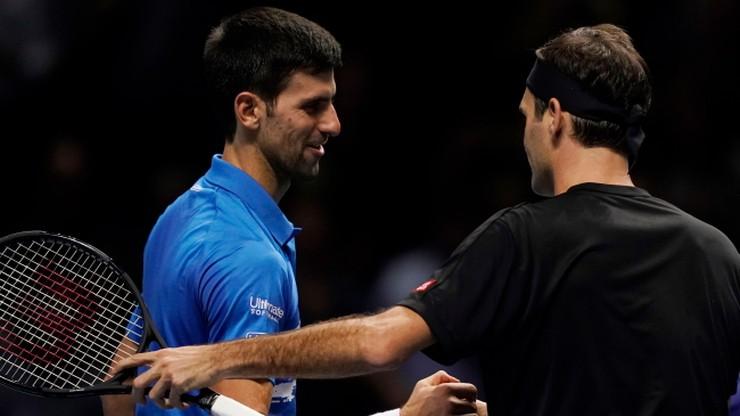 ATP Finals: Federer pokonał Djokovica i awansował do półfinału