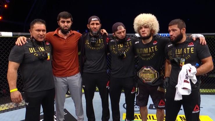 UFC 254: Khabib - Gaethje. Wyniki i skróty walk (WIDEO)