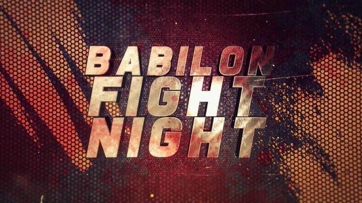 Babilon Fight Night. Transmisja w Polsacie Sport, Polsacie Sport Fight i Super Polsacie