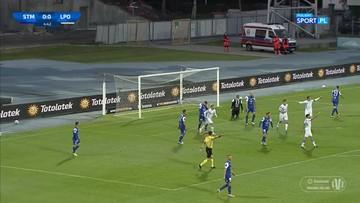 Totolotek Puchar Polski: PGE Stal Mielec - Lech Poznań 1:3. Skrót meczu