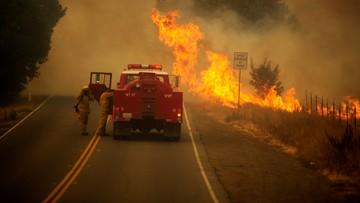 Pożary w Kalifornii. Tysiące ludzi zmuszonych do ucieczki