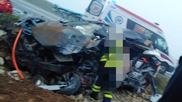 Tragiczny wypadek w pobliżu lotniska w Pyrzowicach. Jedna osoba zginęła