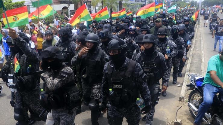 Fala protestów w Boliwii. Będą nowe wybory prezydenckie