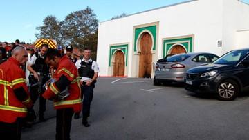 Atak na meczet we Francji. Sprawca chciał zemścić się za zniszczenie Notre Dame