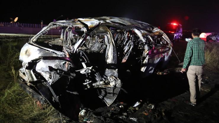 Wypadek furgonetki. 13 osób nie żyje