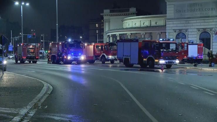 Pożar na dworcu we Wrocławiu. Nie żyje reanimowany ranny