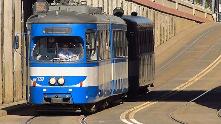 Wybuch w krakowskim tramwaju. Pasażerowie uciekali z wagonu