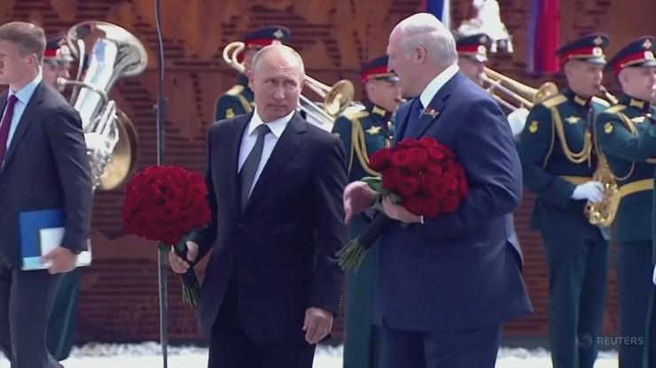 Łukaszenka: Putin obiecał pomoc w zapewnieniu bezpieczeństwa