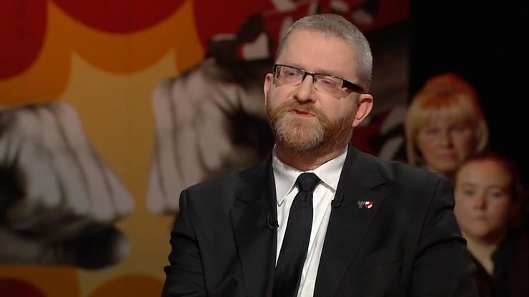"""""""Brak kary śmierci oznacza upadek cywilizacji"""". Grzegorz Braun w """"Skandalistach"""""""