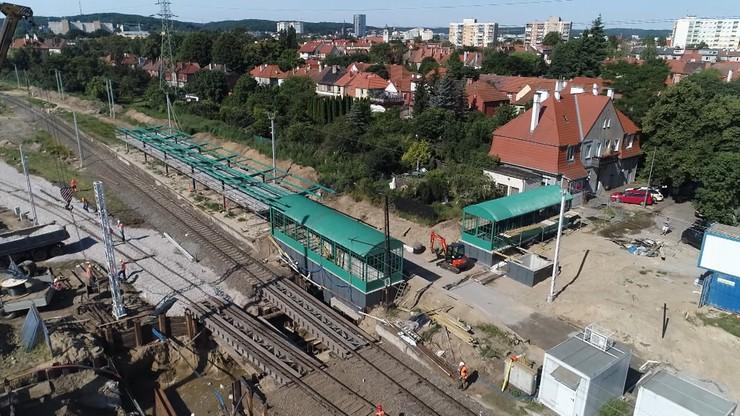 Gdańsk: remont stacji widmo za milion zł. Nie zatrzyma się tam żaden pociąg