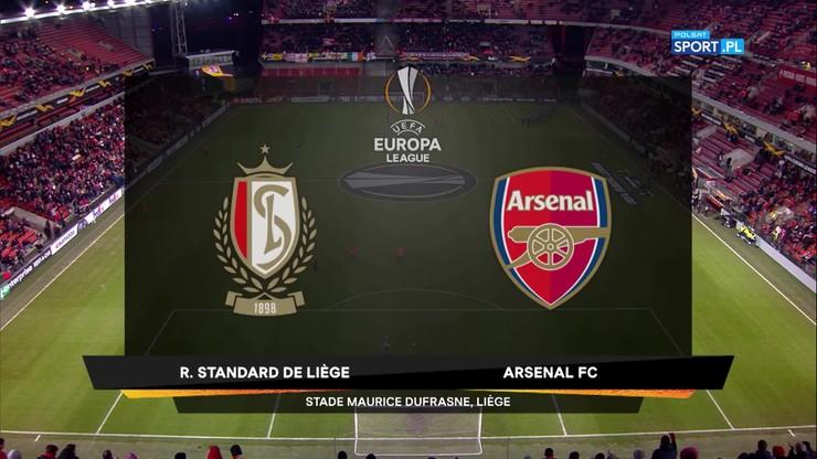 Standard Liege - Arsenal 2:2. Skrót meczu