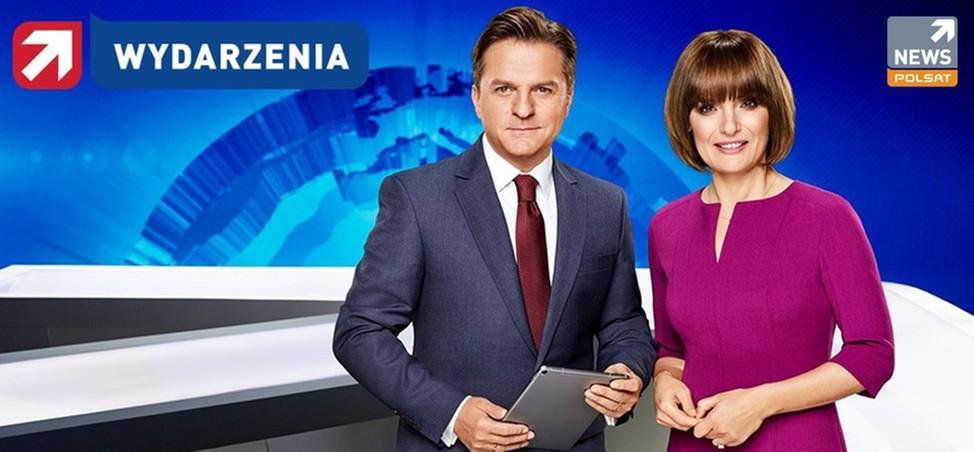 """Rekordowy kwiecień w Polsat News. Bardzo dobre wyniki """"Wydarzeń""""."""
