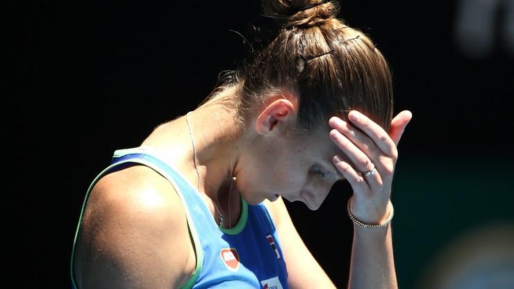 Australian Open: Odpadła rozstawiona z numerem drugim Pliskova