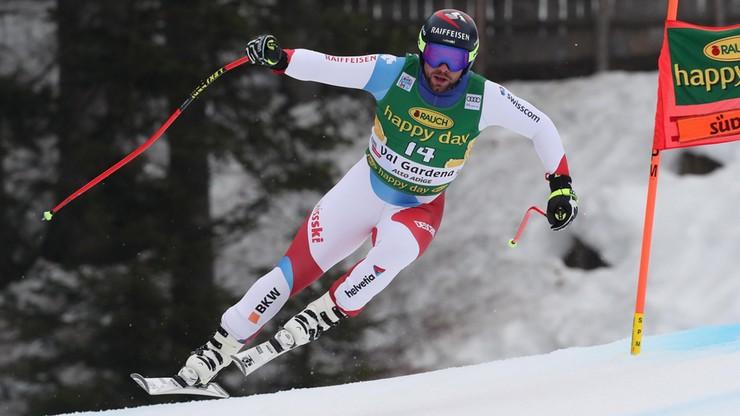 Alpejski PŚ: Szwajcar wystąpi w zawodach ze... złamaną ręką