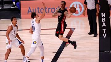 NBA: Miami Heat w drugiej rundzie, wielki mecz Dragicia