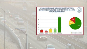 Czy walka ze smogiem powinna być priorytetem? Sondaż dla polsatnews.pl